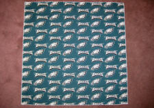 "NFL PHILADELPHIA EAGLES HEAD BANDANAS -  CHEERING CLOTH - APPROX 22 1/2 "" SZ"