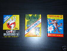 Ghostbusters 2 Gremlins Gremlins 2 NEW Collectors Cards by Topps RARE