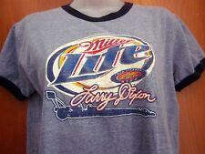 LARRY DIXON ringer T shirt Miller Lite 2000 juniors XL drag racing NHRA dragster
