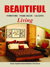 """Beautiful Living Furniture Business Retail Display Sign, 18""""w x 24""""h, Full Color"""