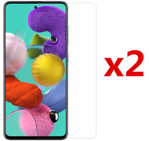 2 x Tempered Glass Screen Protector For Samsung Galaxy S21 CASE FRIENDLY