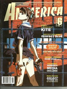 Animerica Magazine Vol. 7 Issue #6  from July 1999 La Femme Nikita: KITE !