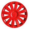 "4x16"" Wheel trims covers fit PEUGEOT 208 16"" full set - red"