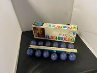 Vintage Sylvania Blue Dot Flashbulbs Press 25B Box of 12