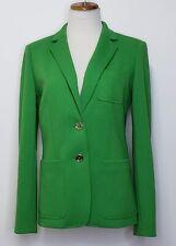 Tommy Hilfiger Two-Button Patch Pocket Jacket Green Blazer Size 6
