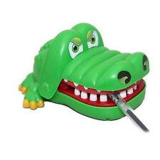 Gift For Children Kids Funny Gags Dentist Bite Finger Game Joke Crocodile Toy