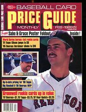 SCD Baseball Card Price Guide February 1989 Mike Greenwell jhscd2