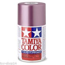 TAMIYA # 300086050 PS-50 100 ml Aluminium Effet-rouge En polycarbonate