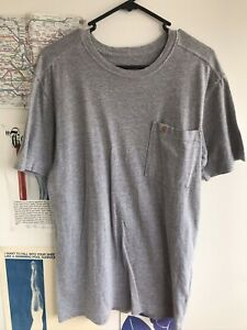 Carhartt Grey Short Sleeve Size S