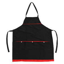 1 Pc Polyester Apron Barista Baker Bbq Chef Apron for Barber Work Uniform