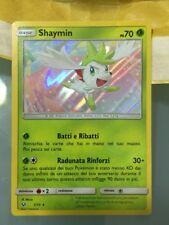 POKEMON card  # Shaymin # GX •Holo Reserve EX •RARA •PS70 •Carta ITA •7/73