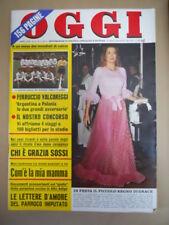 OGGI n°21 1974 Nazionale Argentina e Polonia Foto - Grace Kelly  [G775]