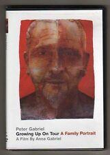 PETER GABRIEL-GENESIS-GROWING UP on TOUR - DVD LTD ED - MINT - SIGILLATO
