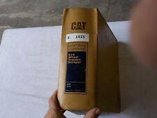 Cat 615 Wheel Tractor Scraper Service Manual