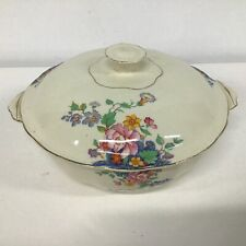 Alfred Meakin England Royal Marigold Ceramic Casserole Dish With Lid #710