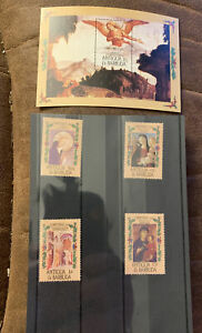 Antigua & Barbuda Stamps MNH Christmas 1985
