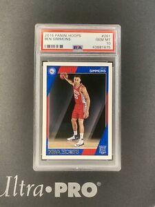 2016-17 Panini NBA Hoops Basketball Ben Simmons Rookie #261 RC PSA 10
