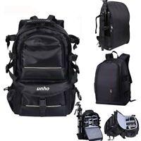 Big Bag Camera Backpack DSLR/SLR/TLR fr Nikon Sony Canon Lens Tripod Filter Pack
