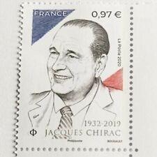 Le timbre de La Poste à l'effigie de Jacques Chirac 2020 / STAMP