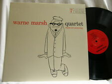 WARNE MARSH Quartet Music for Prancing Red Mitchell Stan Levey Ronnie Ball LP