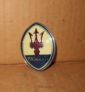 Maserati Biturbo TRUNK EMBLEM Coupe Spyder   Trident **NEW** 318320109 Shamal
