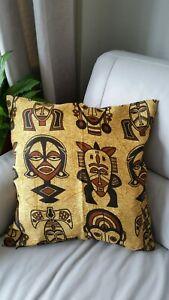 African Print Cushion Covers Vibrant Ankara Wax Cotton Handmade