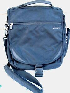 Jansport Black Shoulder Messenger/Convertible Backpack/Commuter Computer Bag New