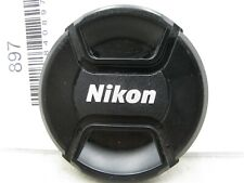 Nikon SLR Genuine Snap-On 67mm LC-67 Front Lens Cap Cover