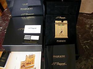 ST DUPONT PHARAOH JEROBOAM TABLE LIGHTER, MINT, RARE, ONE OF 300 ONLY