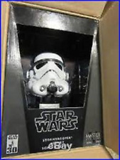 Star Wars Master Replicas STORMTROOPER .45 Scaled Mini Helmet Replica New MR357