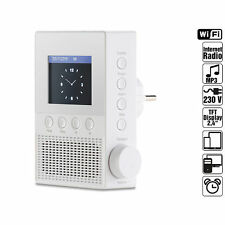VR-Radio Steckdosen-Internetradio IRS-300 mit WLAN, 6,1-cm-Display, 6 Watt Radio