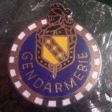 Pin's insigne miniature de Motard de la Gendarmerie Région Lorraine (av.1990~)