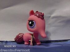 Littlest Pet Shop Red Anteater with Purple Eyes #2581 New Loose