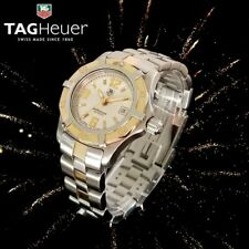 TAG Heuer Professional 2000 Exclusive Two-Tone SS 18k Gold Ladies Watch WN1353