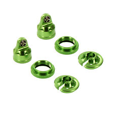 Traxxas X-Maxx Alloy Shock Cap Assembly - 2 Sets, Green by Atomik RC - TRX 7764