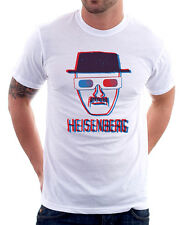 Breaking Bad 1973 3D Crystal Meth STAMPATO COTONE BIANCO T-SHIRT 9767