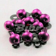 42196: PRO-BOLT Kit tornillos de carenado  (10 pack) Aluminio violeta FB516-10P
