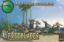 DGS GAMES - FREEBLADES: MERSHAEL CORSAIRS STARTER BOX - 32MM FANTASY WARGAME