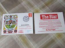 SHEFFIELD Utd Liverpool V 1990 1st Home gioco retro Div 1 CALCIO PRIMO GIORNO DI COPERTURA