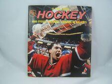 O-Pee-Chee NHL Hockey 1986 Sticker Yearbook Album Book