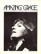 AMAZING GRACE Music Sheet-1971-JUDY COLLINS