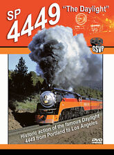 SP 4449 The Daylight Greg Scholl DVD NEW Southern Pacific Portland - Los Angeles