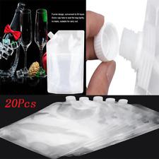 Flasks Bag Kit Rum Runners Alcohol Liquor Smuggle Sneak Booze Wine Plastic Bag