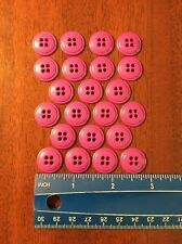 Lot Of 22 Purple Resin Circle Buttons