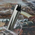 Windproof Butane Gas Refillable Smoking Cigar Cigarette Lighter Clip AUcp