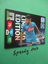 Champions League 2013 Limited Edition insigne Napoli Panini Adrenalyn 13 14