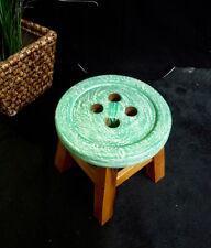 Kinder Hocker aus  Holz, Stuhl, Kinderhocker, Sitzgruppe,  Kinderstuhl  Knopf