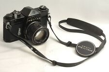 @ Ship in 24 Hours! @ Rare Black Model! @ Pentax SL Film SLR Camera + 55mm f1.8