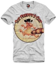 "E1SYNDICATE T SHIRT ""FAT FREDDY'S CAT"" LSD BLOTTER TRIP ART MESCALIN DMT 5513"