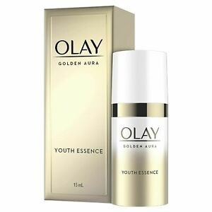 Olay Golden Aura Youth Essence 0.5 Fl Oz new with box